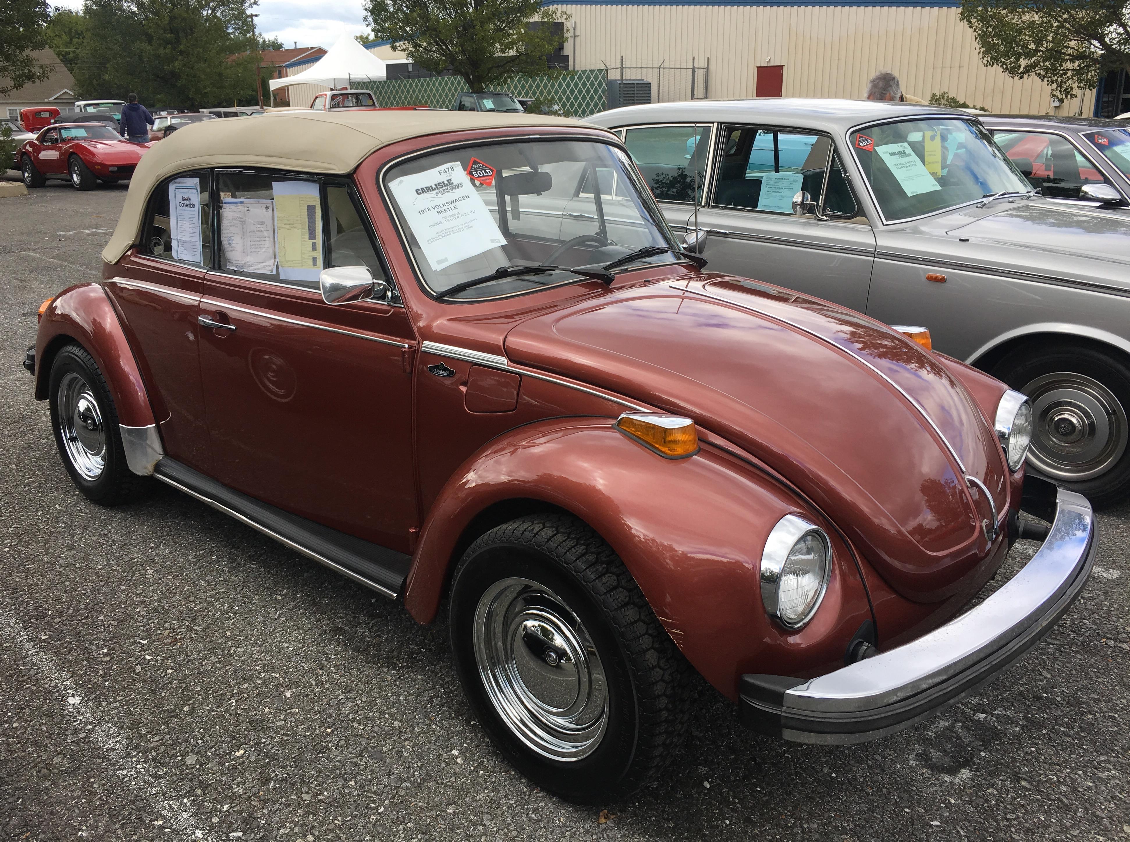 1978 Volkswagen Bug Convertible