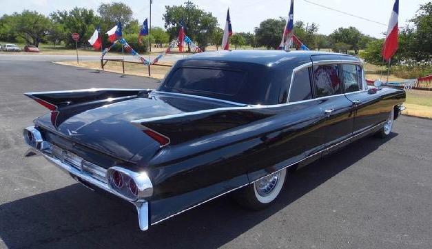 1961 Cadillac 75 Series Limo