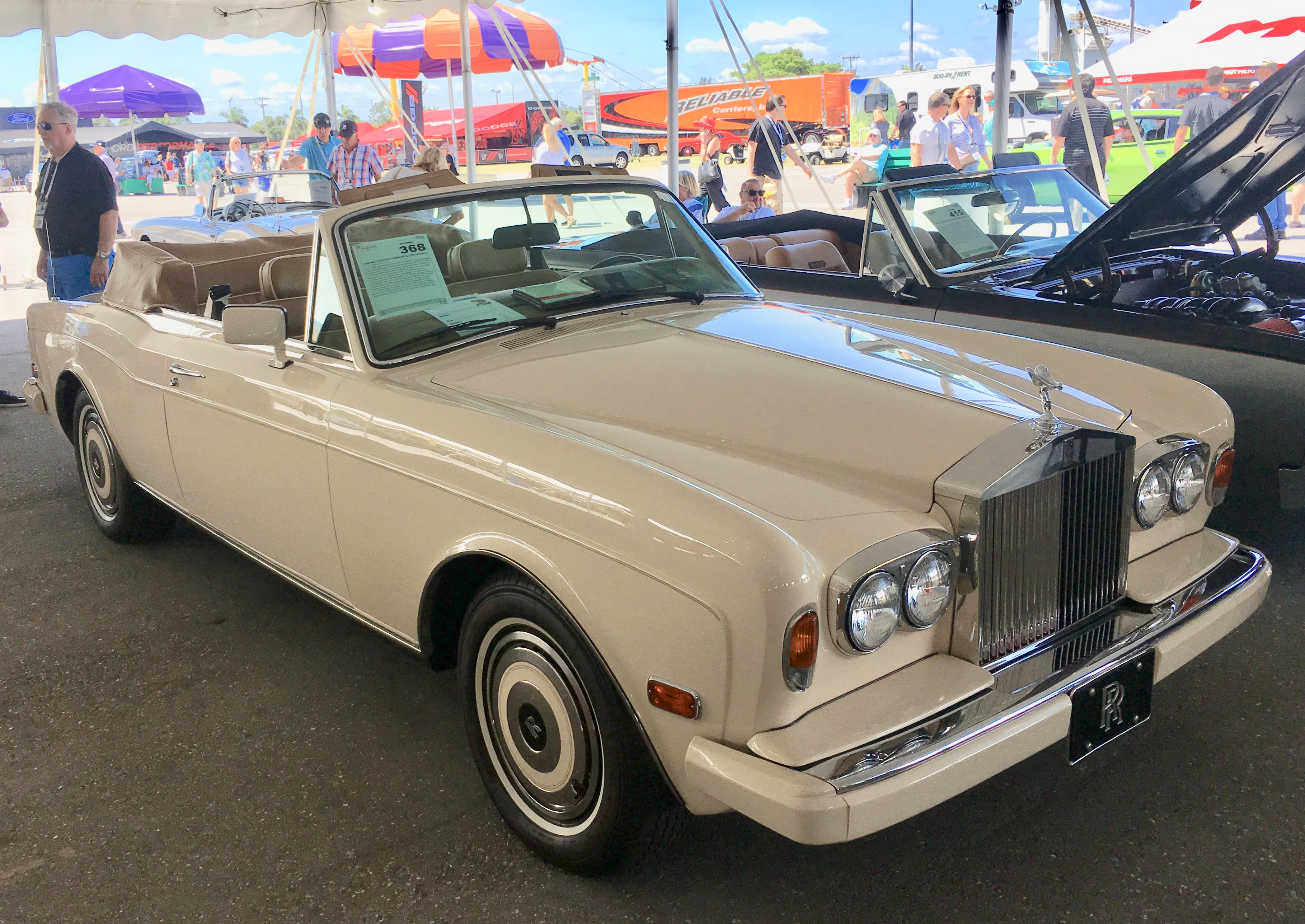 1988 Rolls Royce Corniche Cvt