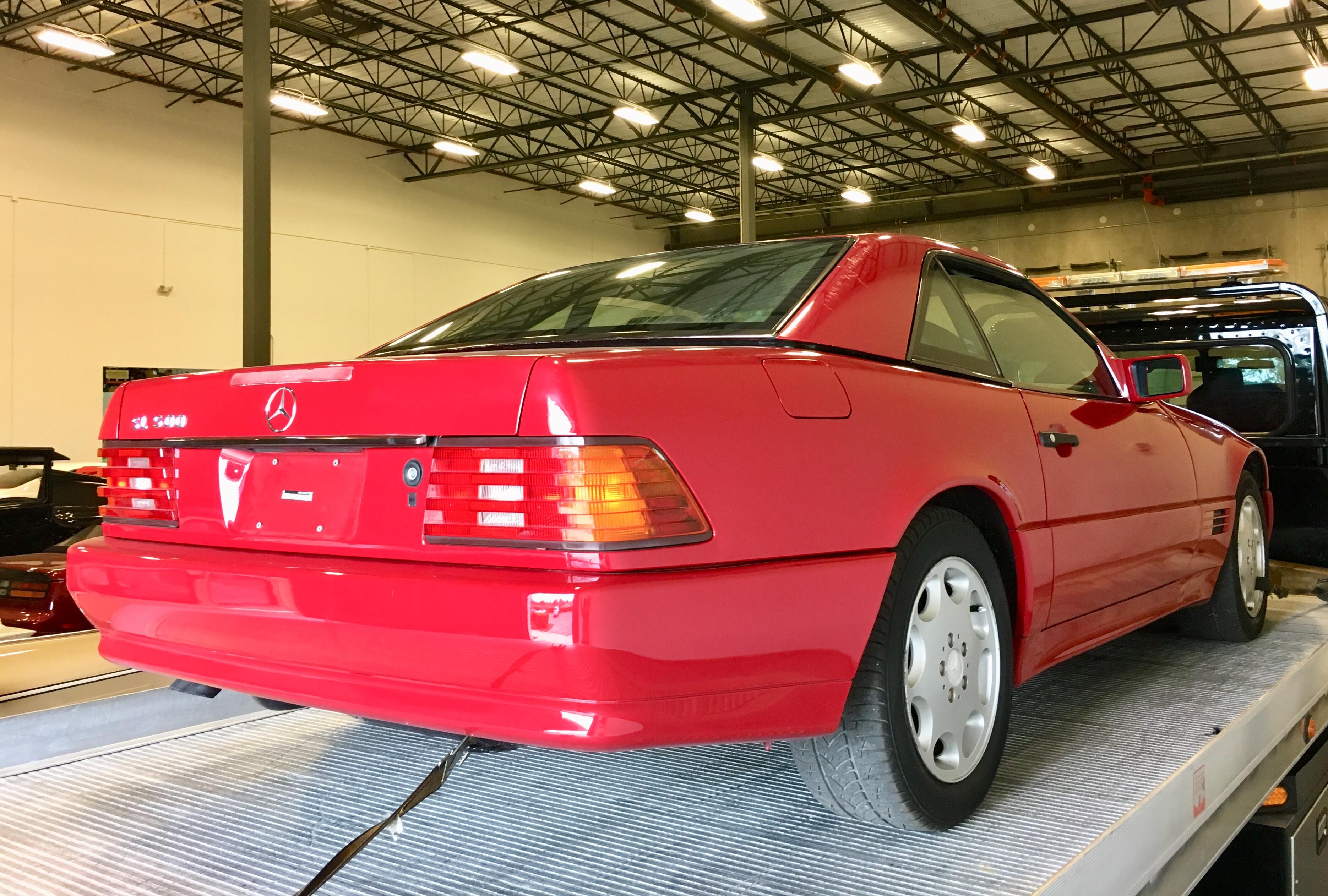 1995 MBZ 500 si