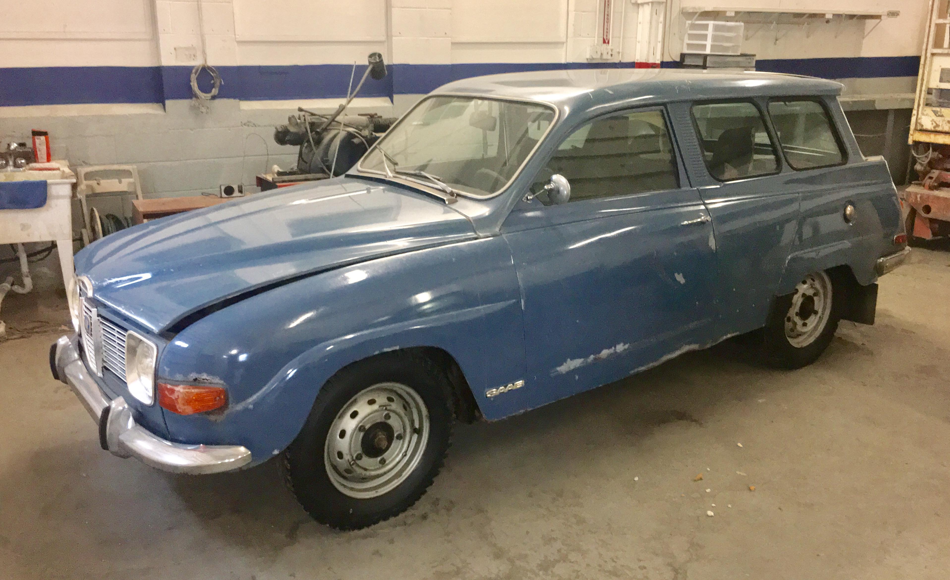 1970 Saab Wagon