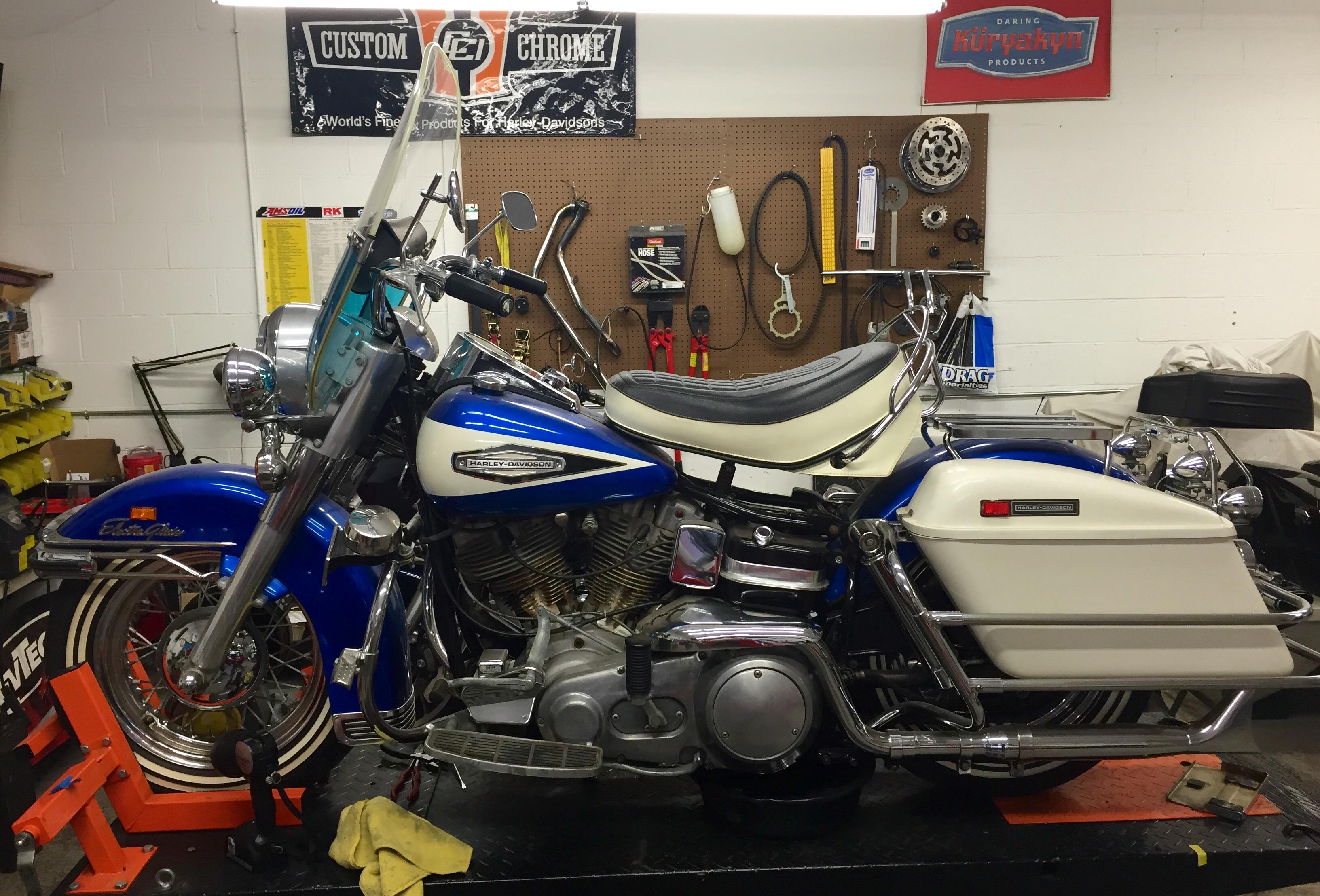1970 Harley Davidson Electra Glide