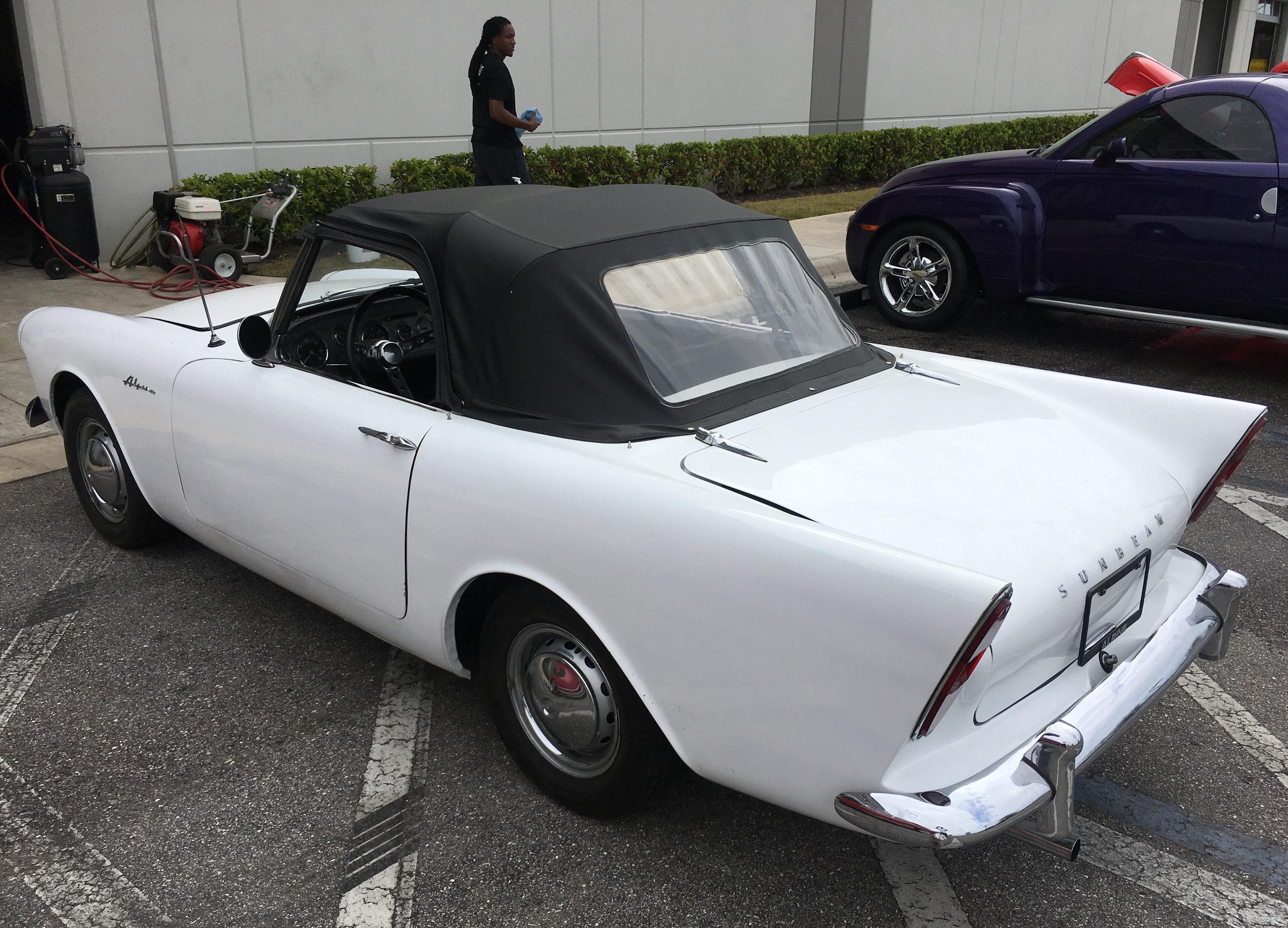 1961 Alpine Sunbeam ii