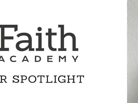 Faith Academy Staff Spotlight: Caroline Whiteside
