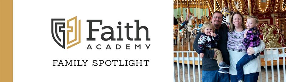 Faith Academy Family Spotlight: The Parker Family