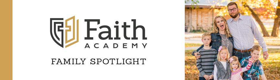 Faith Academy Family Spotlight: The Harder Family