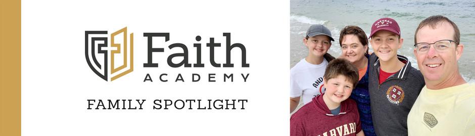 Faith Academy Family Spotlight: The Sawyer Family