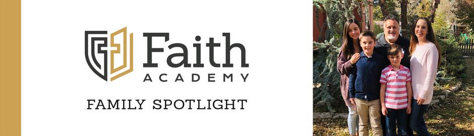 Faith Academy Family Spotlight: The Nelson Family