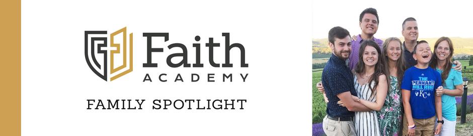 Faith Academy Family Spotlight: The Paul Family