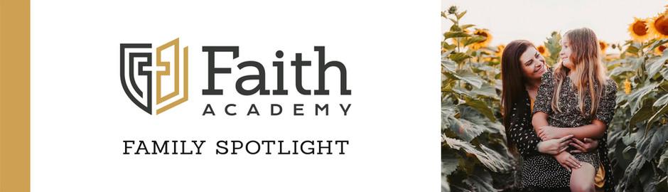 Faith Academy Family Spotlight: The Alonzi Family