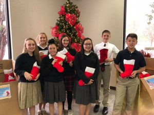 faith academy gives back to our soldiers