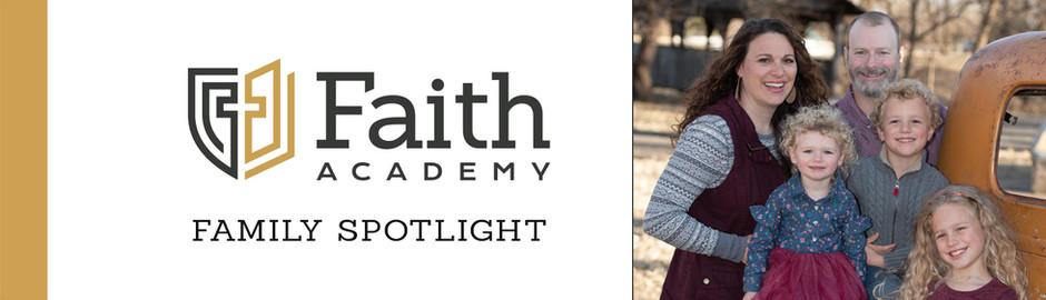Faith Academy Family Spotlight: The Durham Family