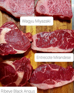 meat tasting
