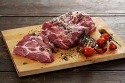 pork-collar-cooking