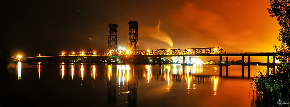 HARWOOD BRIDGE CANE FIRE