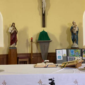 Daily mass 9.30 am, Wednesday 21st October