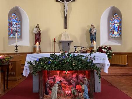 Daily mass 9.30 am, Tuesday 5th January