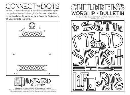 Kids' Bulletin, 12th July '20