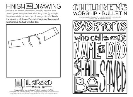Kids' Bulletin, 9th August '20