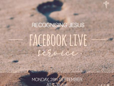 Recognising Jesus