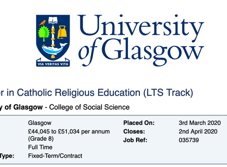Lecturer in Catholic Religious Education