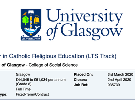 Lecturer in Catholic Religious Education