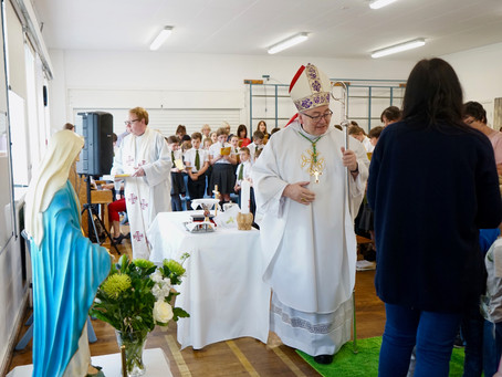 An end of term Mass with the community of St Dominic's, Crieff