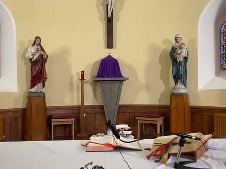 Daily mass 9.30 am, Thursday 17th December
