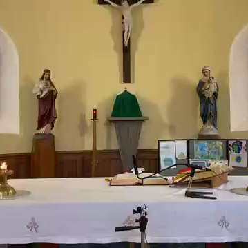 Daily mass 9.30 am, Monday 5th October