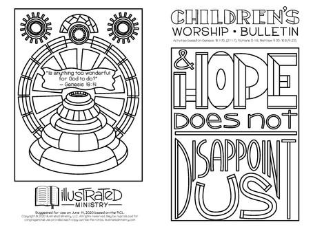 Kids' Bulletin, 14th June '20