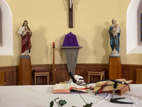 Daily mass 9.30 am, Wednesday 16th December