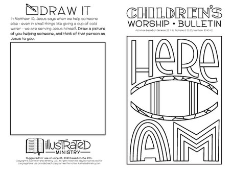 Kids' Bulletin, 28th June '20