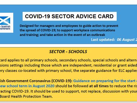 Sector Advice Card
