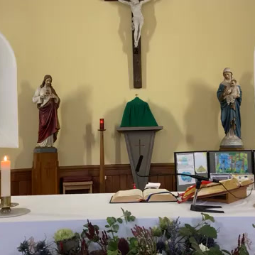 Daily mass 9.30 am, Monday 26th October