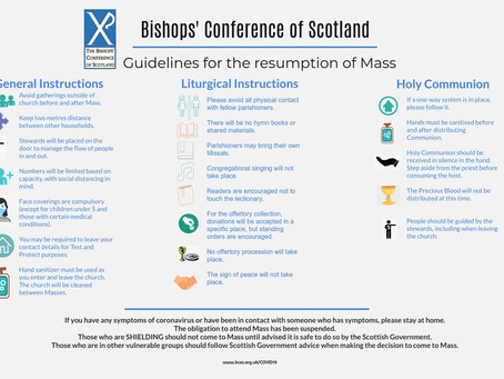 Guidelines for the Resumption of Mass