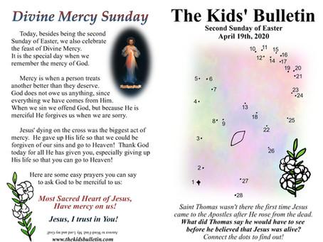 Kids' Bulletin, 19th April '20