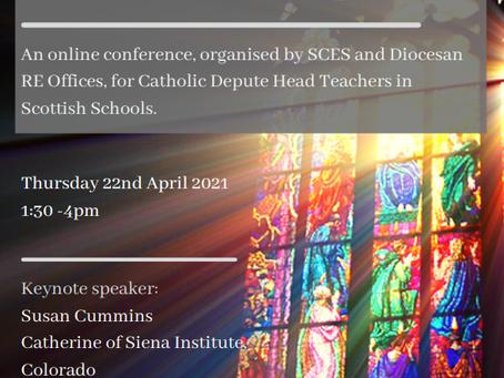 Calling all Catholic Depute Head Teachers in Scotland!