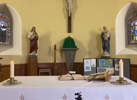 Daily mass 9.30 am, Tuesday 20 October