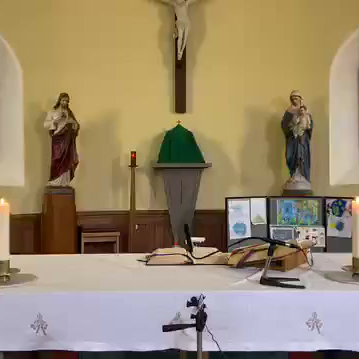 Daily mass 9.30 am, Tuesday 13th October