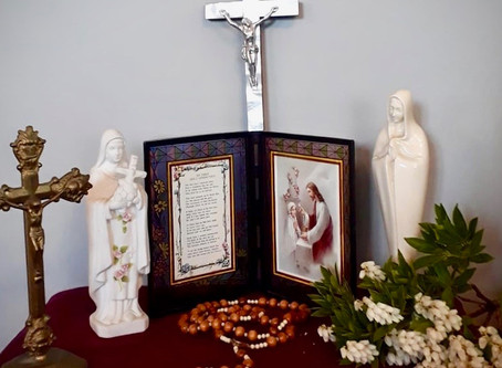 May Altars done by families