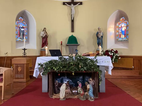 Daily mass 9.30 am, Tuesday 12th January