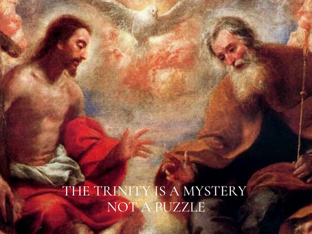 Trinity as mystery not puzzle