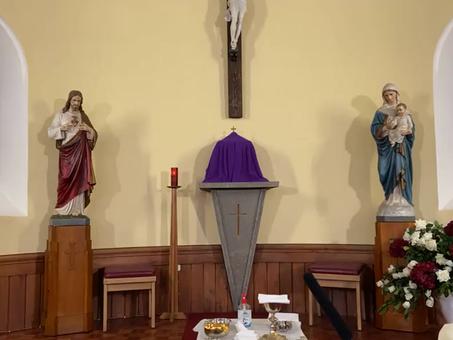 Praying for Archbishop Tartaglia and Bishop Logan
