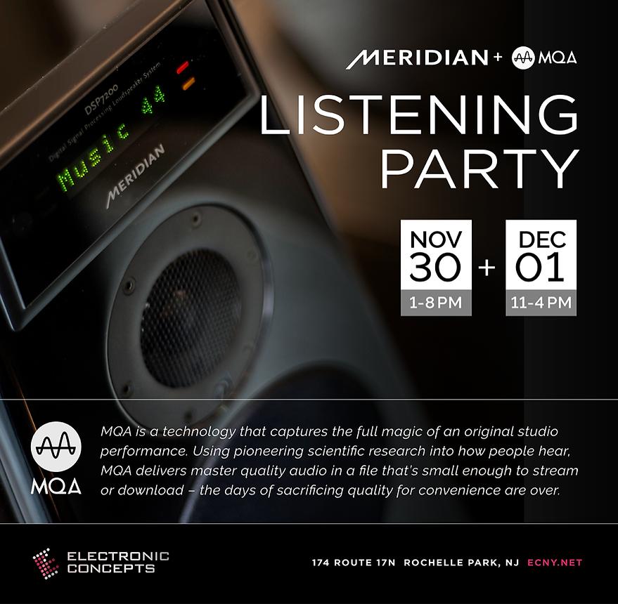 Meridian Audio MQA DSP7200 DSP8000 SE 2