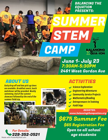 Copy of Kids Summer Camp - Made with Pos