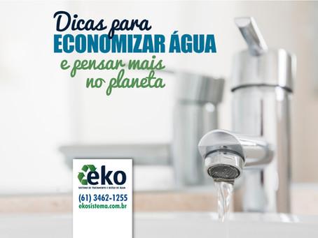 6 dicas para economizar água e pensar mais no planeta