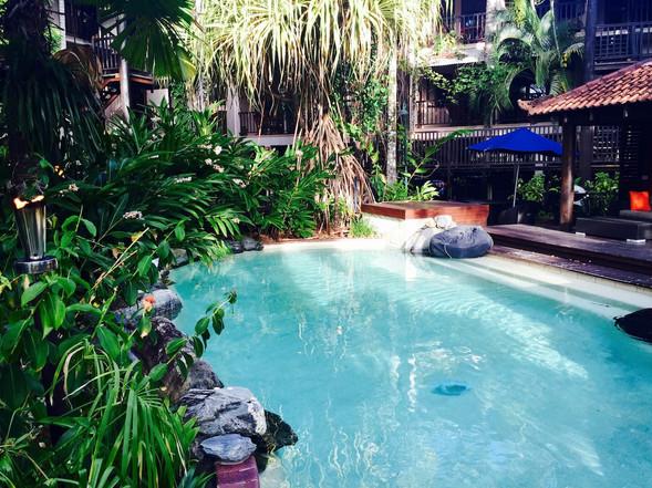 Hibiscus Number 9   |   pool