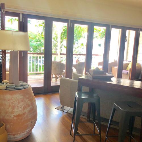 Living Area opens onto large balcony