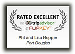 Rated Excellent by tripadvisor