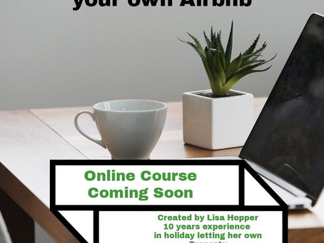 Coming soon ... online course on how to self manage your own property for holiday rental